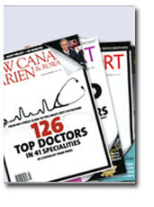 Dr. Joseph O'Connell Listed As A Top Doctor In Fairfield County Magazines