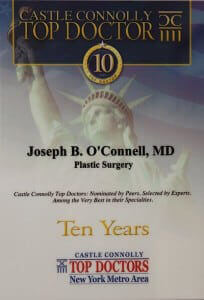 Dr. Joseph O'Connell Selected A Top Doctor New York Metro Area