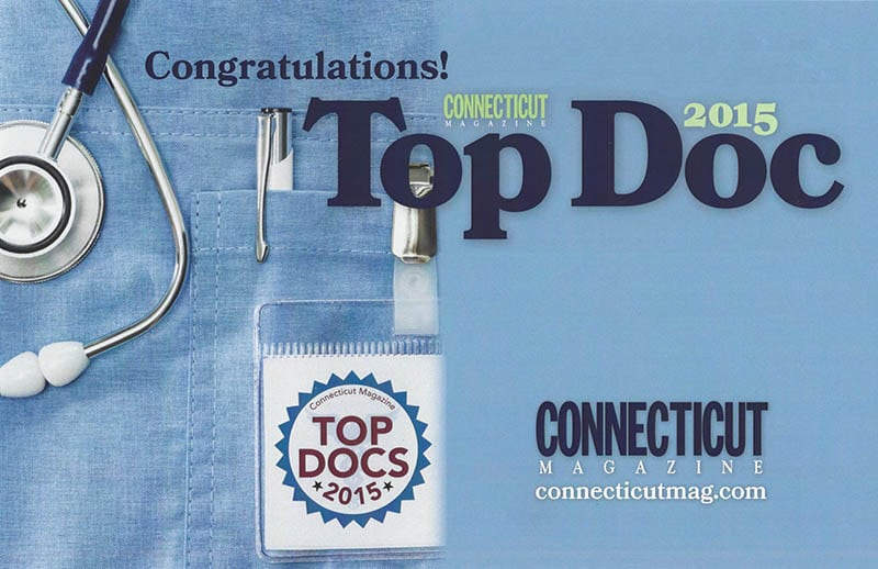 Connecticut Magazine 2015 Top Doc