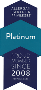 Allergan - Platinum member since 2008