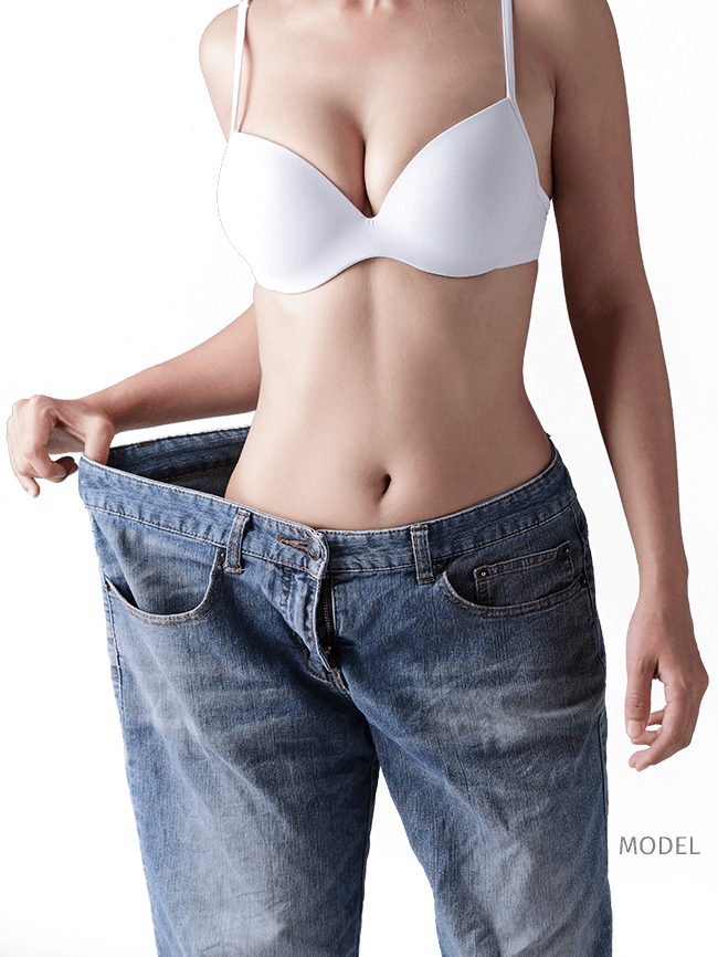 Model: Body Contouring after Weigh Loss